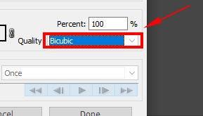 bicubic in photoshop