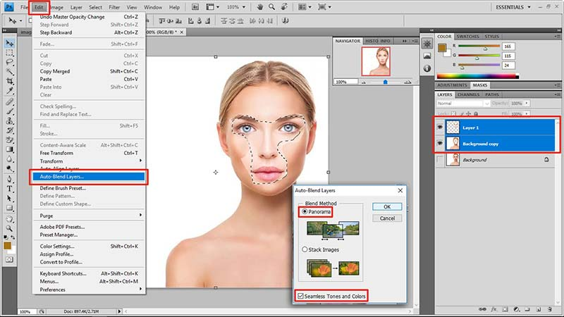 face swap in photoshop tutorial 10