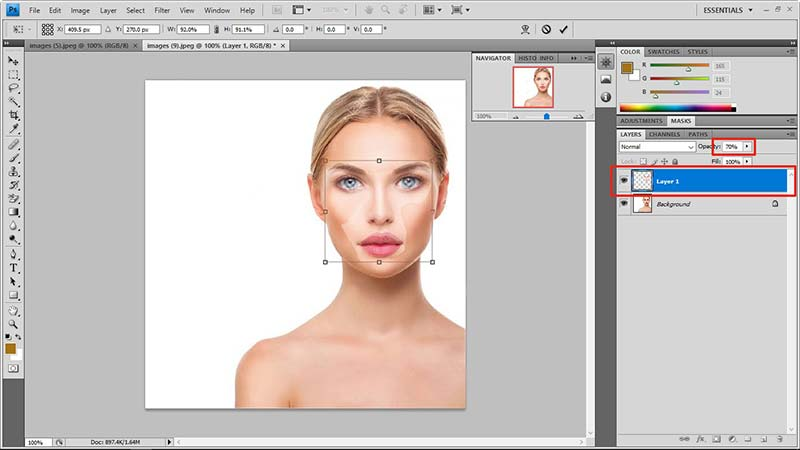 face swap in photoshop tutorial 5