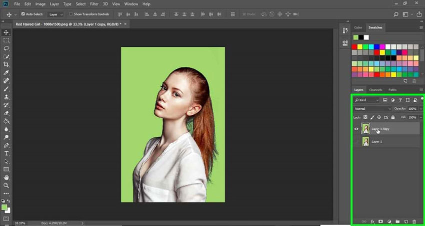 How to Change the Background Color of an Existing Image