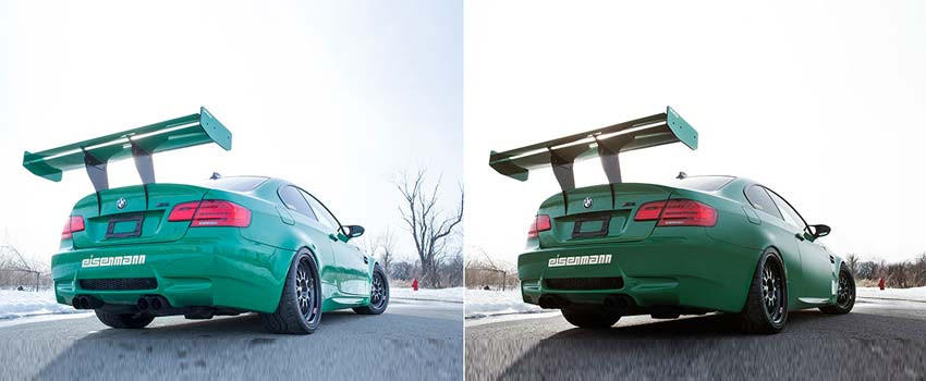 Best Car Photo Editing