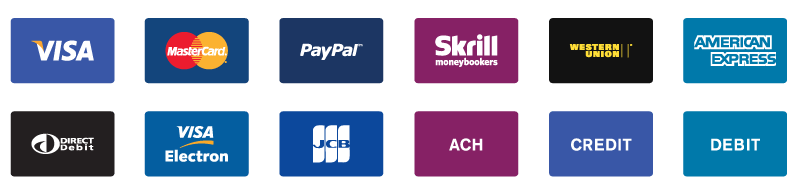 Accepted Payment Methods in Clipping Way