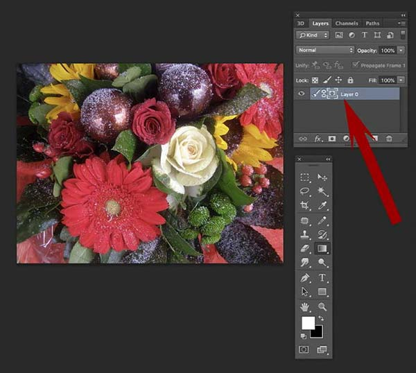 How to fade an image in Photoshop 9