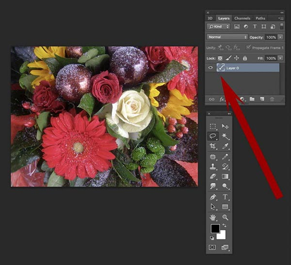 How to fade an image in Photoshop 4