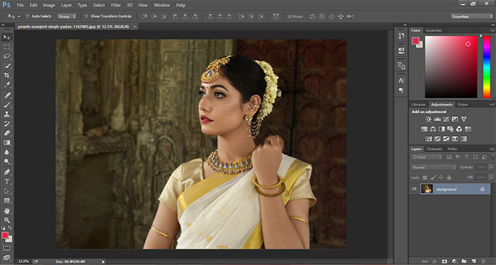 How to remove blur in Photoshop 1