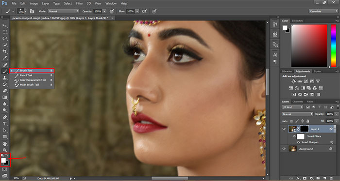 How to remove blur in Photoshop 17