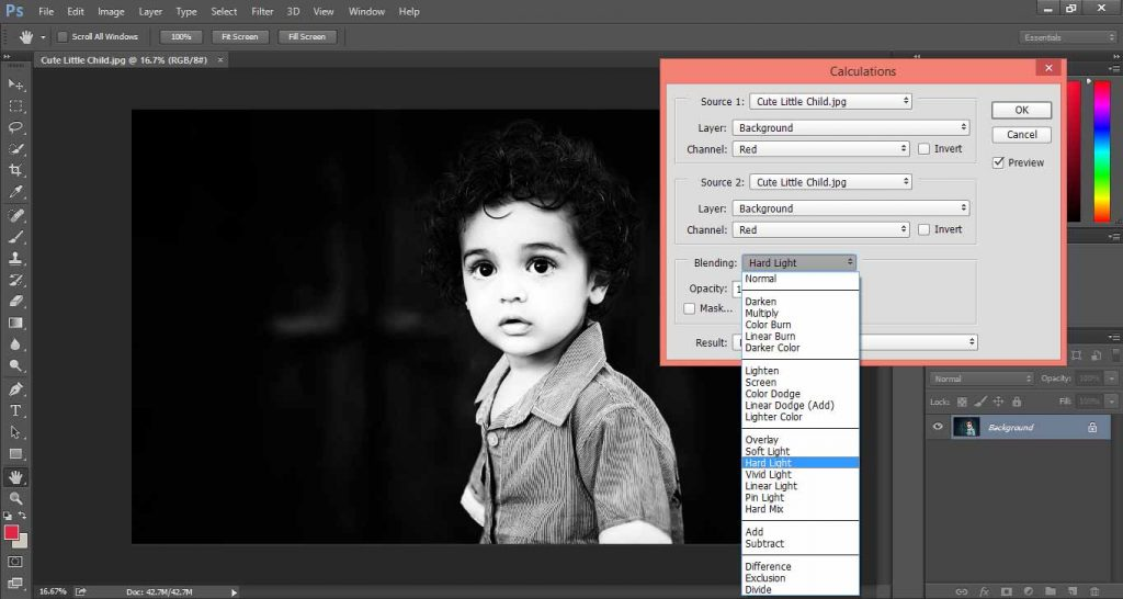 Make Black and White Photos in Photoshop