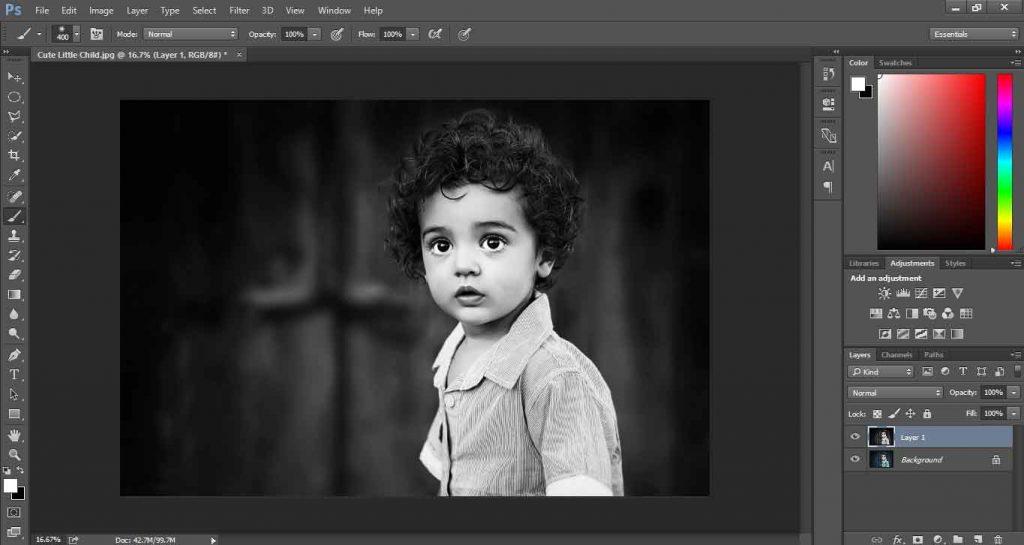 Make Black and White Photos