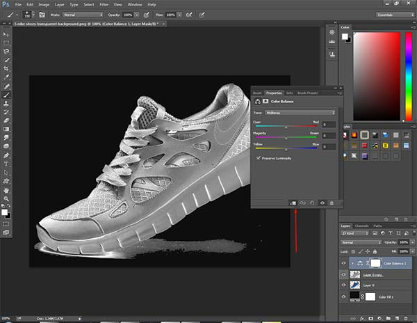 Make something look Gold in Photoshop