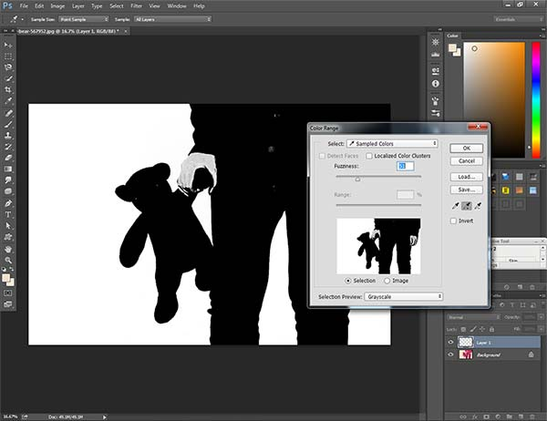 Color Change Grayscale