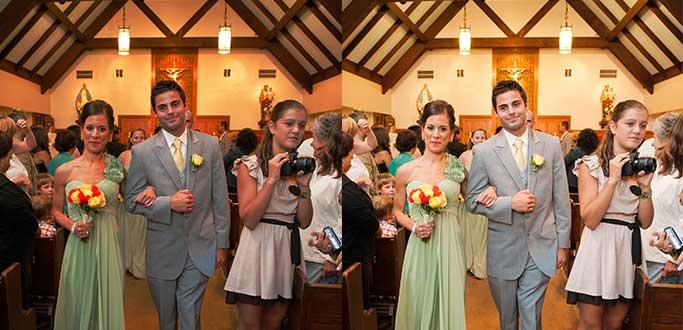 Wedding Photo Color Editing