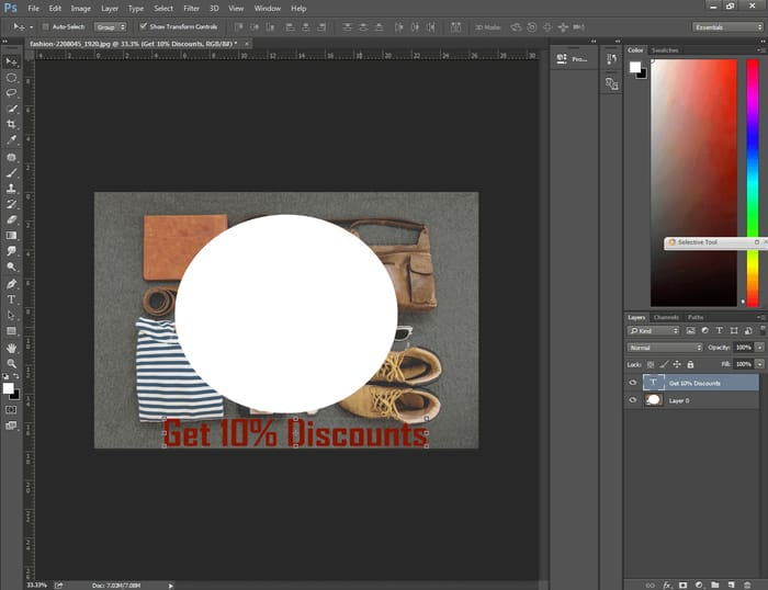 How to Center Text in Photoshop ( 4 Easy Way ) 9