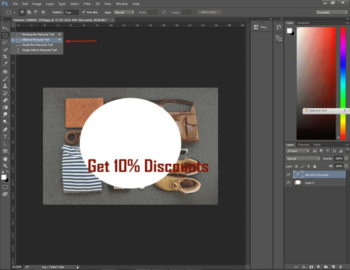 How to Center Text in Photoshop ( 4 Easy Way ) 10