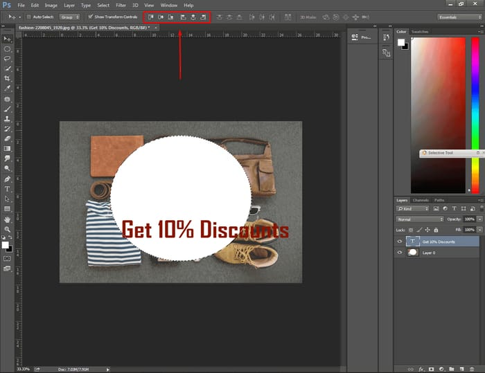 How to Center Text in Photoshop ( 4 Easy Way ) 11