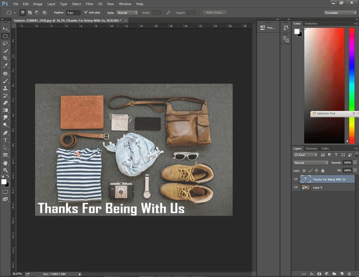 How to Center Text in Photoshop ( 4 Easy Way ) 13