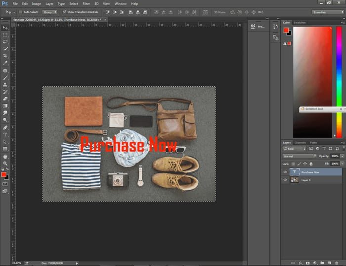 How to Center Text in Photoshop ( 4 Easy Way ) 3