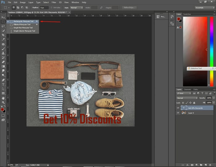 How to Center Text in Photoshop ( 4 Easy Way ) 5