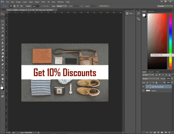 How to Center Text in Photoshop ( 4 Easy Way ) 8