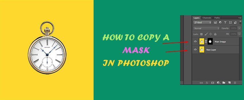 how to copy a mask in photoshop