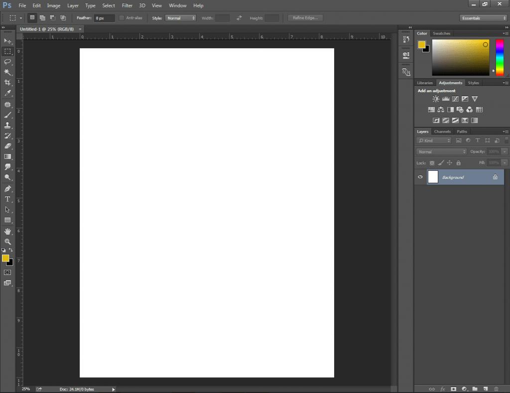 Take a Blank Background