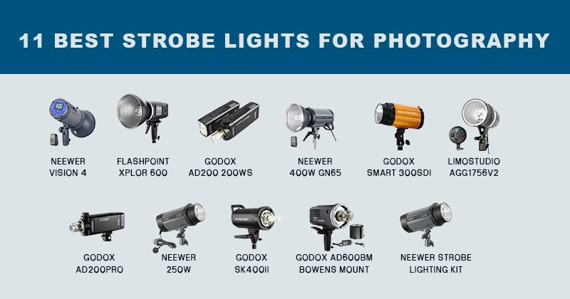 best strobe lights for photography