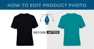 How to edit product photos
