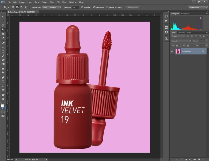 How to Change the Background Color of A Picture