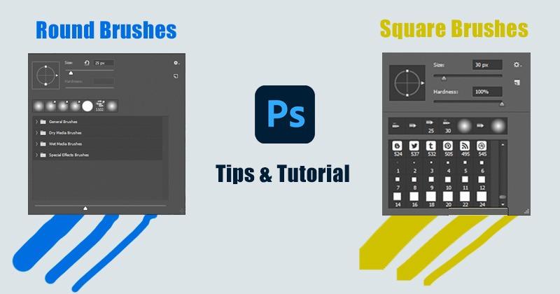 Square Photoshop Brushes